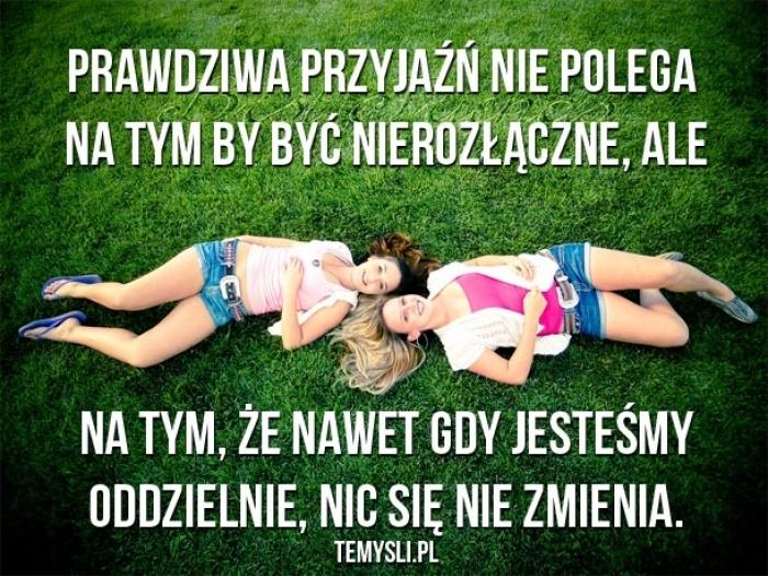 Prawdziwa przyjaźń