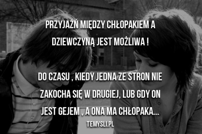 Przyjaźń Między Chłopakiem A Dziewczyną