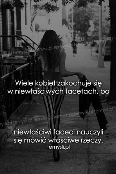 Wiele kobiet zakochuje się..