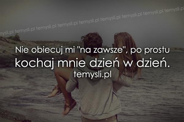 Nie obiecuj mi..