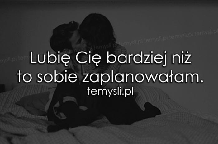 Lubię Cię bardziej niż..