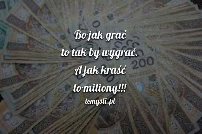 Wygrać miliony