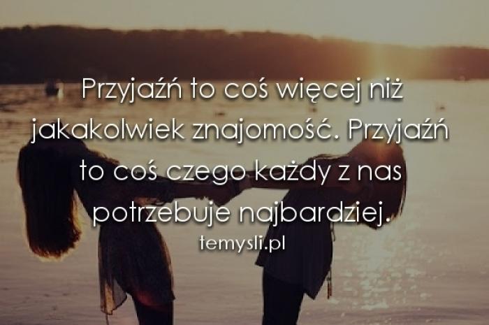 Przyjaźń...