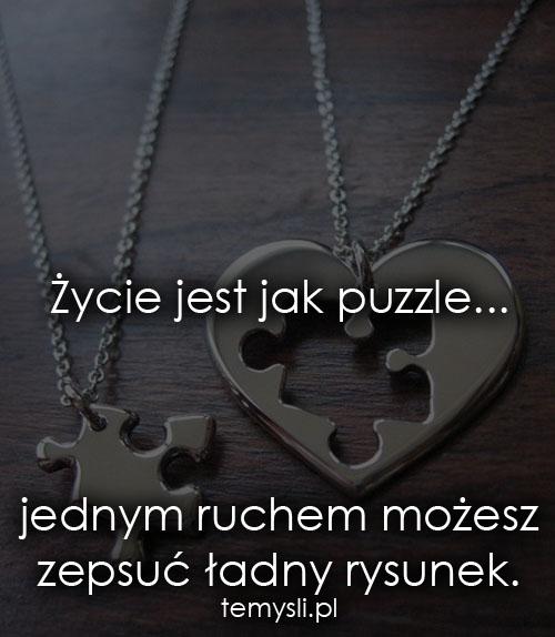życie Jest Jak Puzzle