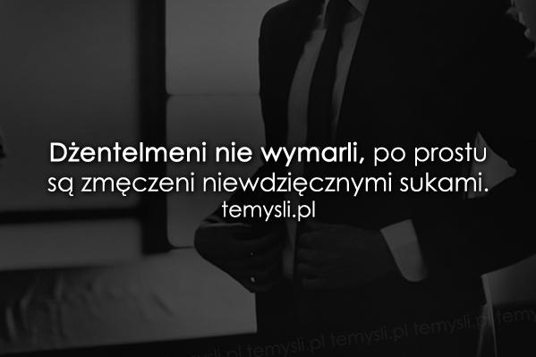 Dżentelmeni nie wymarli...
