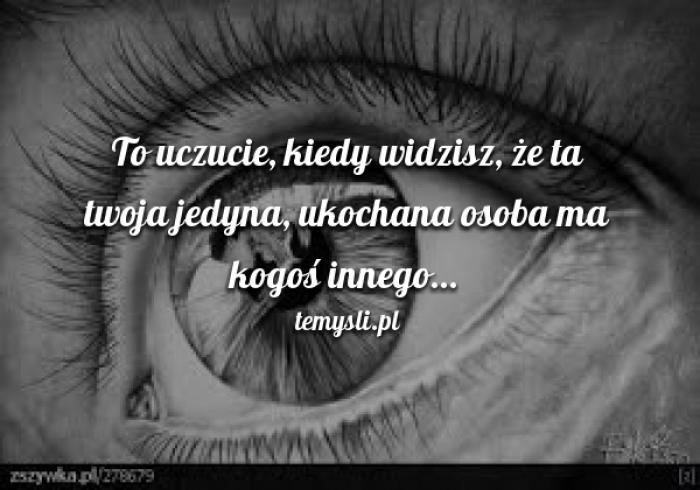 To smutne uczucie...