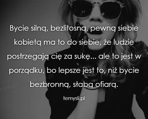 Bycie silną...