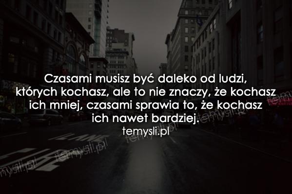 Czasami.......