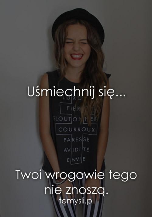 Uśmiechnij się...