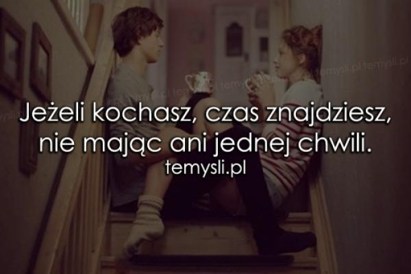 Jeżeli kochasz..