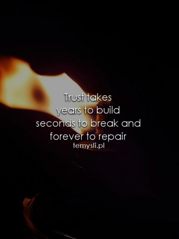 Trust takes