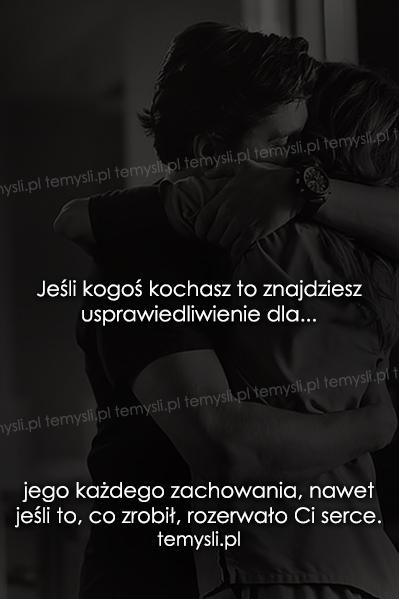 Jeśli kogoś kochasz to znajdziesz...