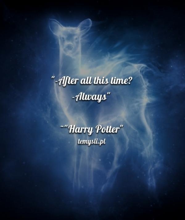 Harry Potter Temyslipl Inspirujące Myśli Cytaty Demotywatory