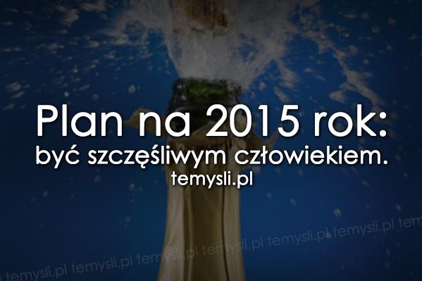 Plan na 2015 rok...