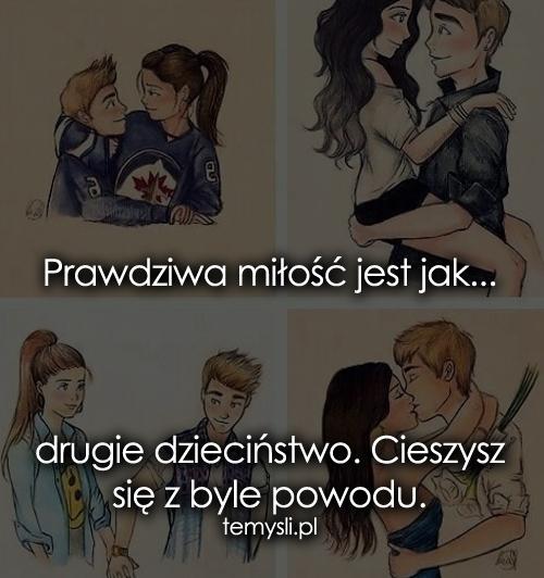 Prawdziwa miłość jest jak...