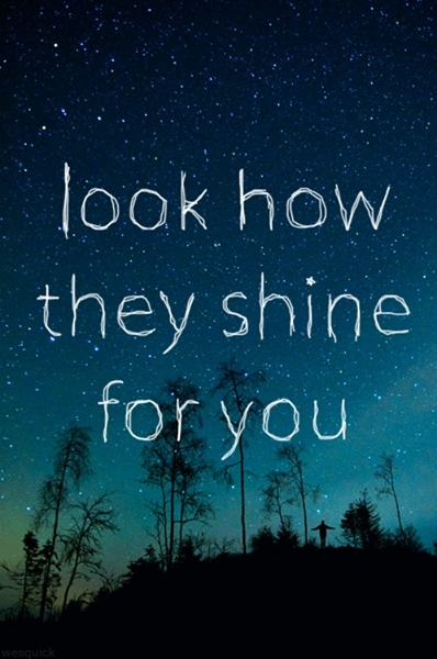 They  shine  for  you