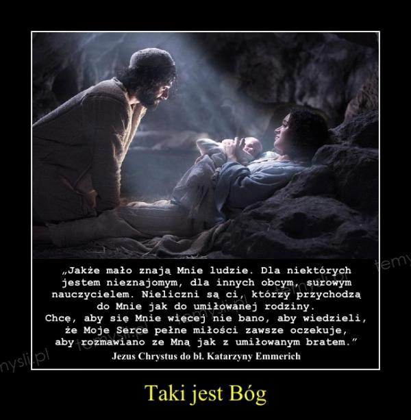 Taki jest Bóg