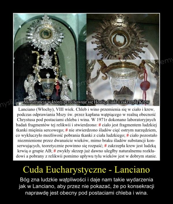 Cuda Eucharystyczne - Lanciano