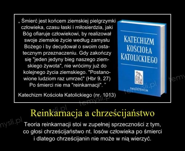 Reinkarnacja a chrześcijaństwo