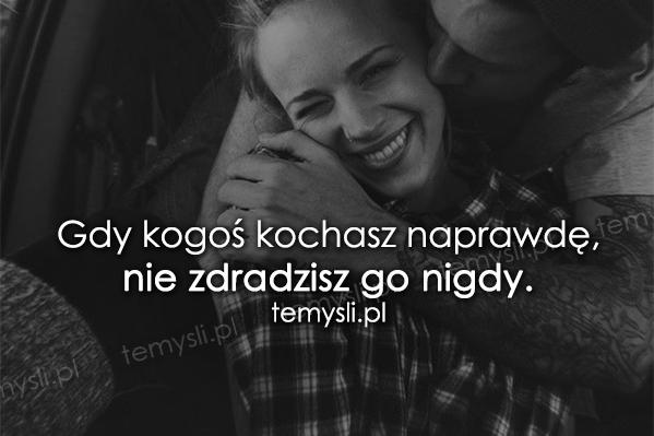 Gdy kogoś kochasz naprawdę...