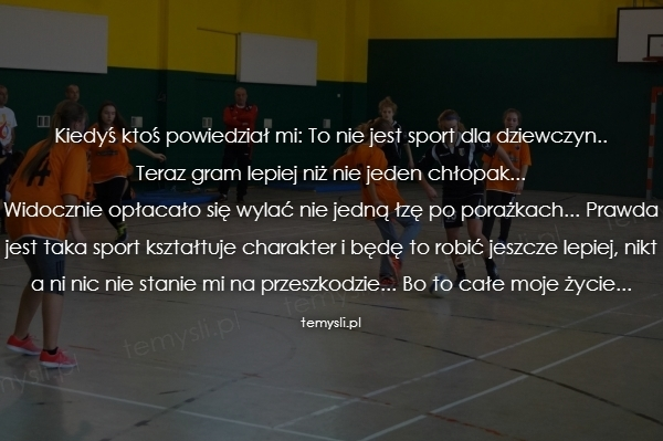 Sport Temyslipl Inspirujące Myśli Cytaty Demotywatory Teksty