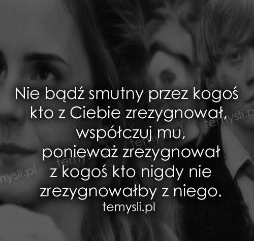 Nie bądź smutny