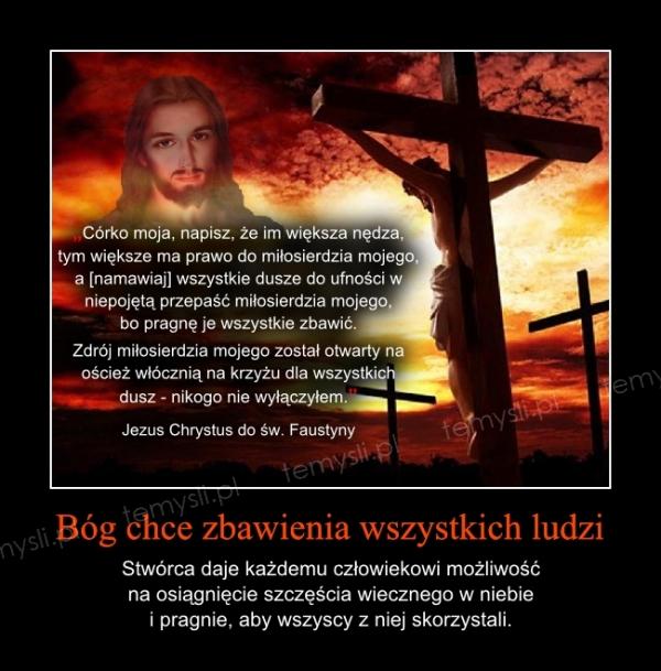 Bóg chce zbawienia wszystkich ludzi