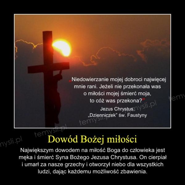 Dowód Bożej miłości