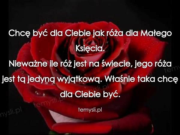 Być jak róża..