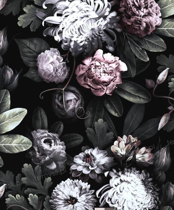 Kwiaty dark