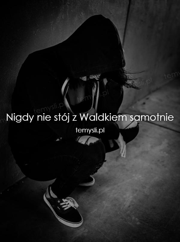 Nigdy nie stój z Waldkiem samotnie