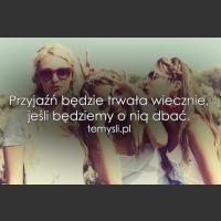 Przyjaźń będzie trwała wiecznie, jeśli..