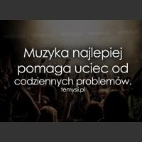 Muzyka najlepiej pomaga