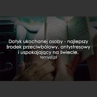Dotyk ukochanej osoby...